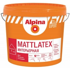 Краска ВД-АК Alpina EXPERT Mattlatex База 1 белая